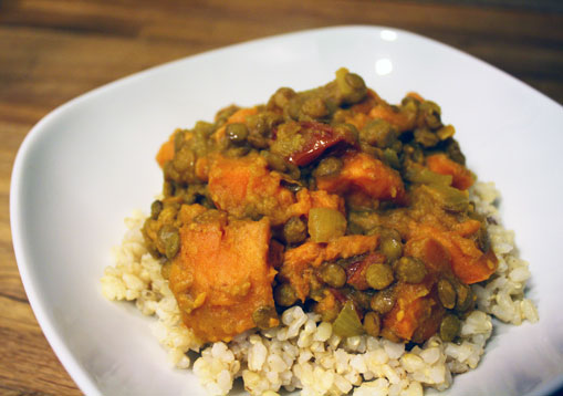 Lentil Sweet Potato Stew from The Kind Diet : Vocal Vegan